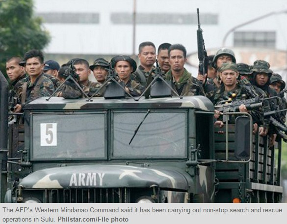 Buru Abu Sayyaf, Filipina Kirim Lebih Banyak Pasukan