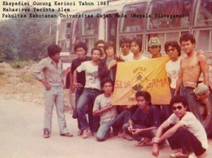 Jokowi Ternyata Anak Mapala, Ini Penampakannya