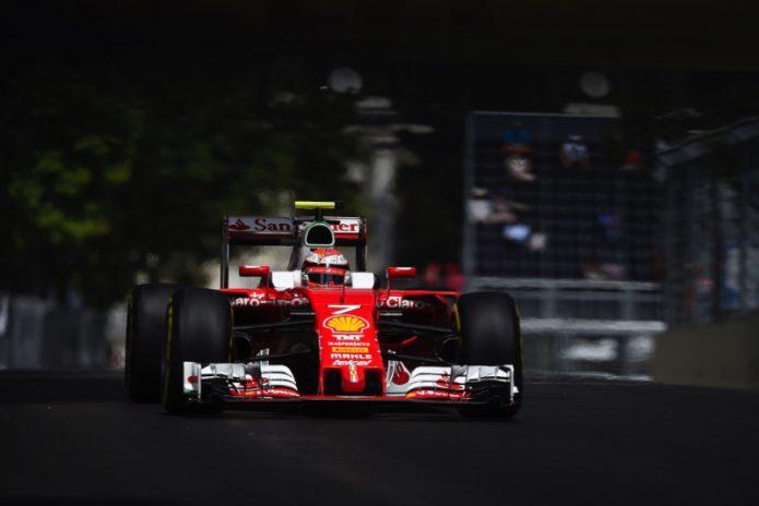 Kimi Raikkonen Mengaku Kecewa Kehilangan Posisi Ketiganya di Sirkuit Baku