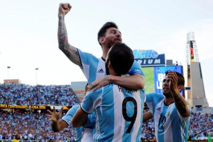 Lionel Messi Bawa Argentina Tantang Amerika Serikat di Semifinal Copa America Centenario 2016