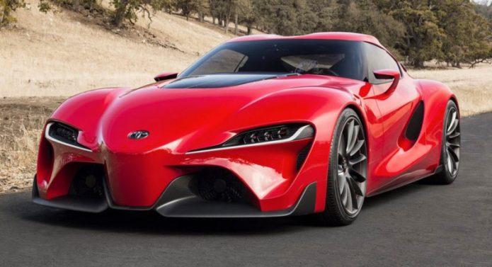 2018, Generasi Terbaru Toyota Supra Mengaspal